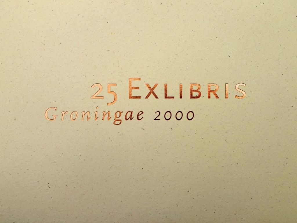 25 EXLIBRIS Groningae 2000